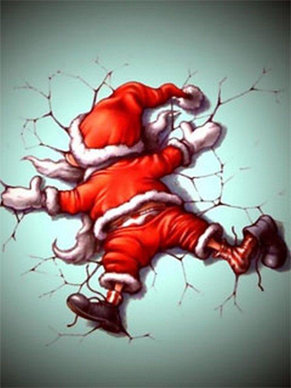 santa claus 16 Ho Ho Ho Santa Claus Funny Photos