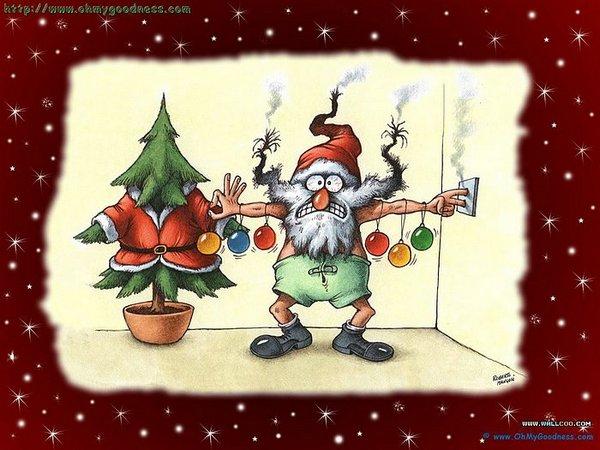 santa claus 19 Ho Ho Ho Santa Claus Funny Photos