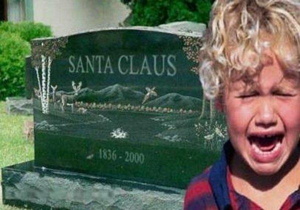 santa claus 20 Ho Ho Ho Santa Claus Funny Photos