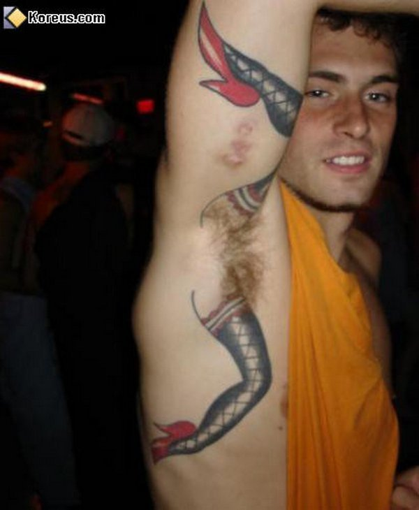 tattoos 02 Top 10 Improperly Placed Tattoos