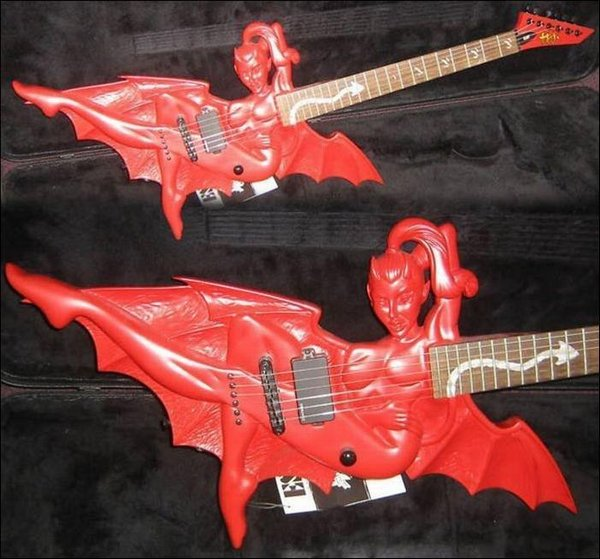 weird guitars 05 30 Most Bizarre & Weirdest Guitars Ever