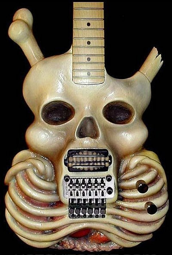weird guitars 07 30 Most Bizarre & Weirdest Guitars Ever