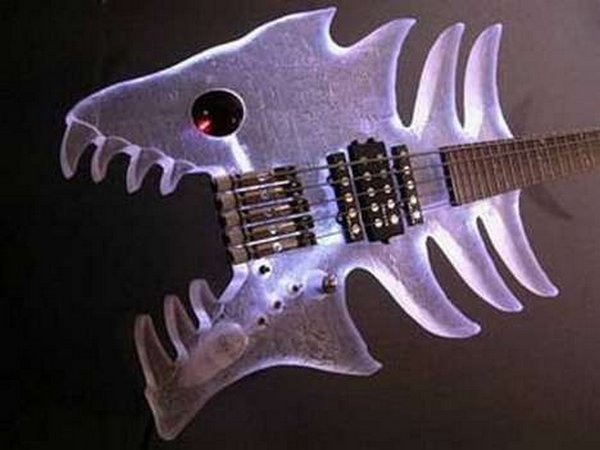 weird guitars 08 30 Most Bizarre & Weirdest Guitars Ever