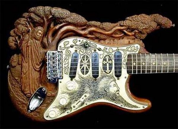 weird guitars 10 30 Most Bizarre & Weirdest Guitars Ever