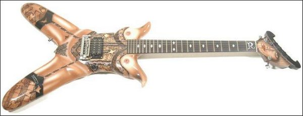 weird guitars 13 30 Most Bizarre & Weirdest Guitars Ever