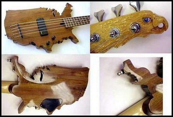 weird guitars 15 30 Most Bizarre & Weirdest Guitars Ever