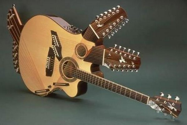 weird guitars 19 30 Most Bizarre & Weirdest Guitars Ever