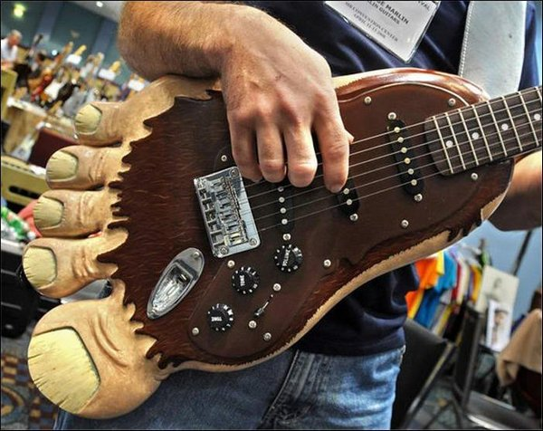 weird guitars 20 30 Most Bizarre & Weirdest Guitars Ever