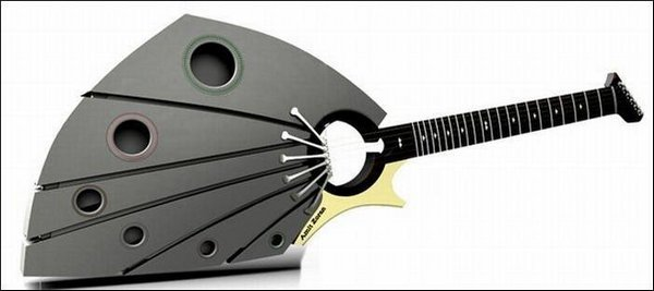 weird guitars 21 30 Most Bizarre & Weirdest Guitars Ever