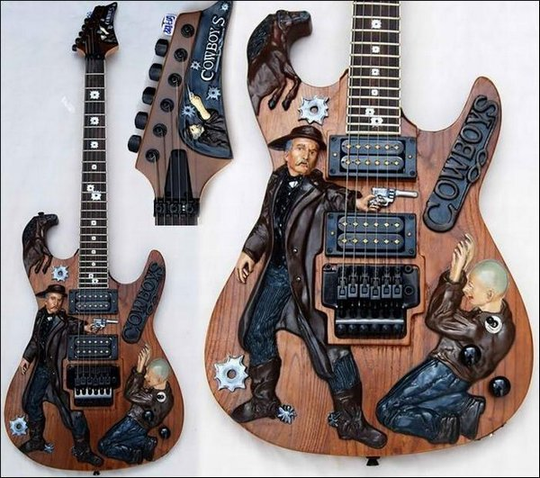 weird guitars 25 30 Most Bizarre & Weirdest Guitars Ever