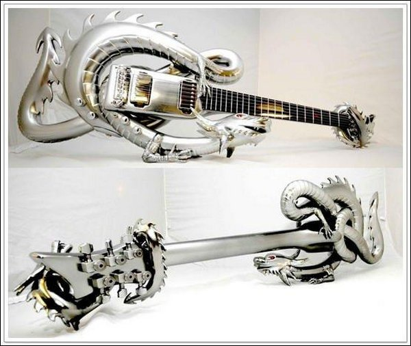 weird guitars 29 30 Most Bizarre & Weirdest Guitars Ever