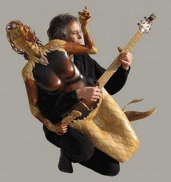 weird guitars 31 30 Most Bizarre & Weirdest Guitars Ever
