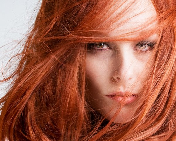 red hair 01 Red Hair Beauty