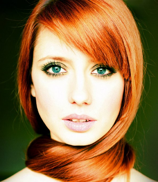 red hair 10 Red Hair Beauty