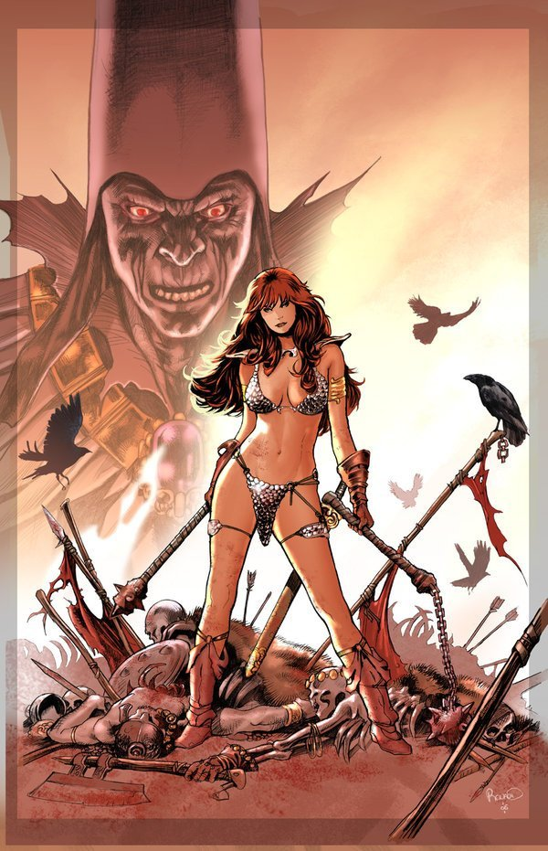 red sonja 01 Red Sonja   Most Attractive Comic Book Heroine