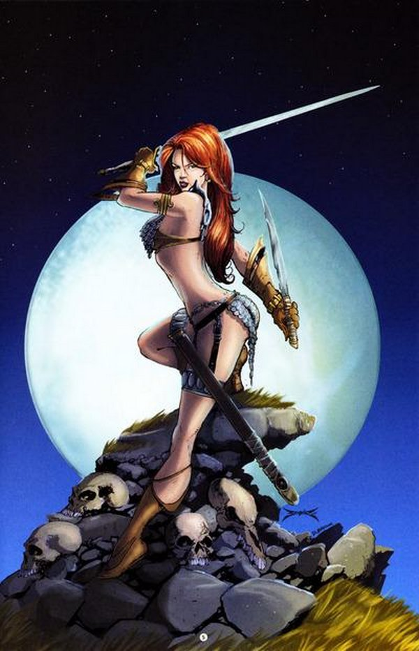 red sonja 02 Red Sonja   Most Attractive Comic Book Heroine