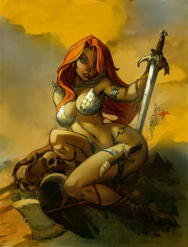 red sonja 03 Red Sonja   Most Attractive Comic Book Heroine