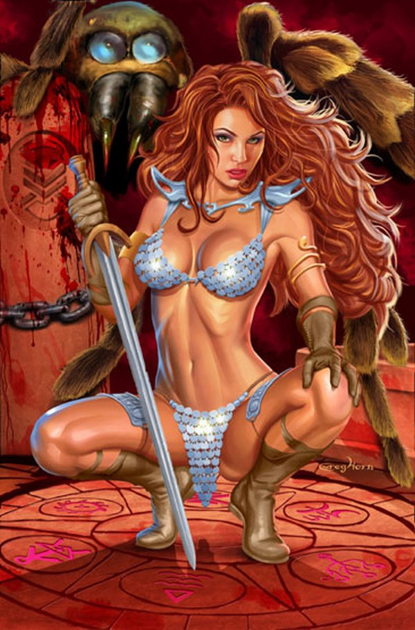red sonja 06 Red Sonja   Most Attractive Comic Book Heroine