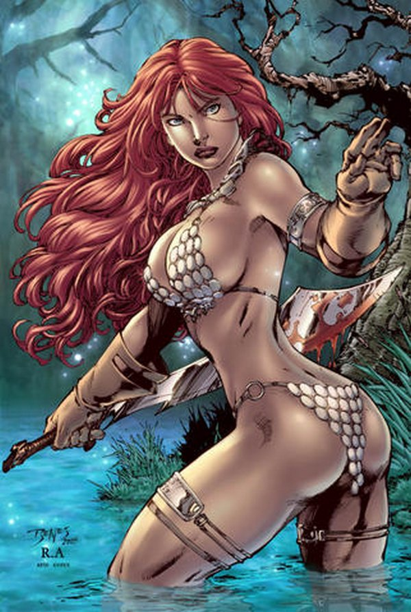 red sonja 07 Red Sonja   Most Attractive Comic Book Heroine