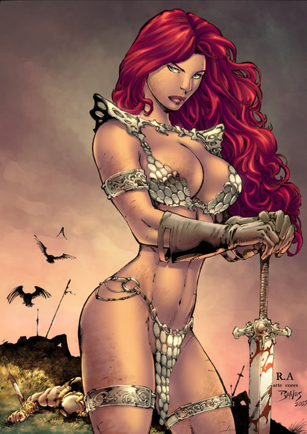 red sonja 08 Red Sonja   Most Attractive Comic Book Heroine