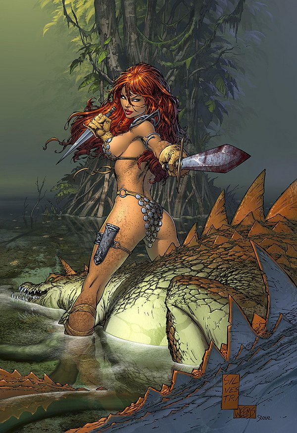 red sonja 09 Red Sonja   Most Attractive Comic Book Heroine