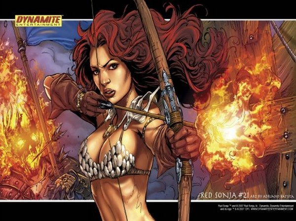 red sonja 13 Red Sonja   Most Attractive Comic Book Heroine