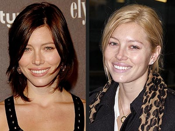 blonde vs brunette celebrities 33 Blonde vs Brunette In Celebrities World