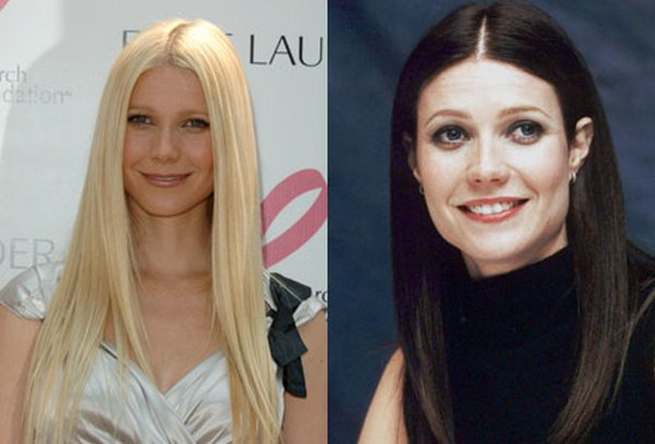 blonde vs brunette celebrities 34 Blonde vs Brunette In Celebrities World