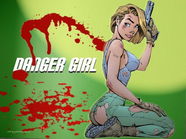 danger girls 11 Danger Girl