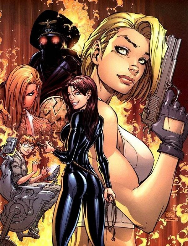 danger girls 13 Danger Girl
