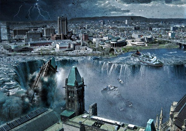 illustrations by steve mcghee 15 Realistic And Gruesome Illustrations Of The End Of The World By Steve McGhee