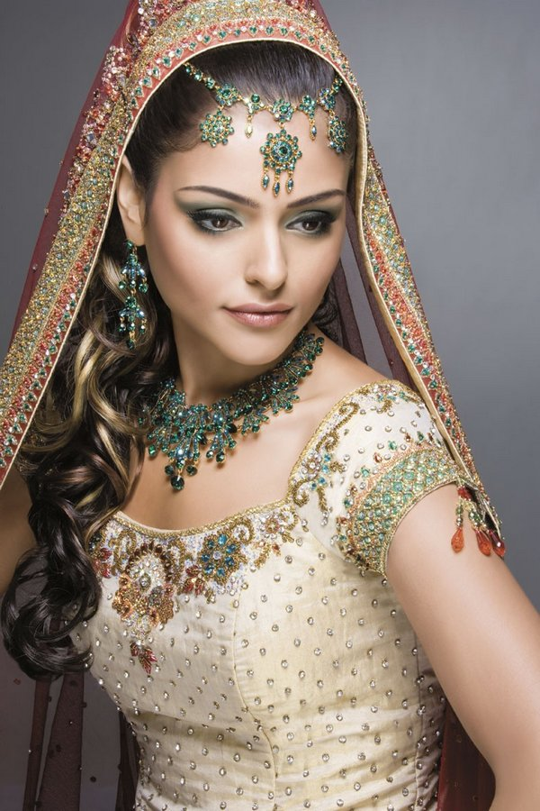 indian brides 07 Lovely & Gorgeous Beauty Of Indian Brides
