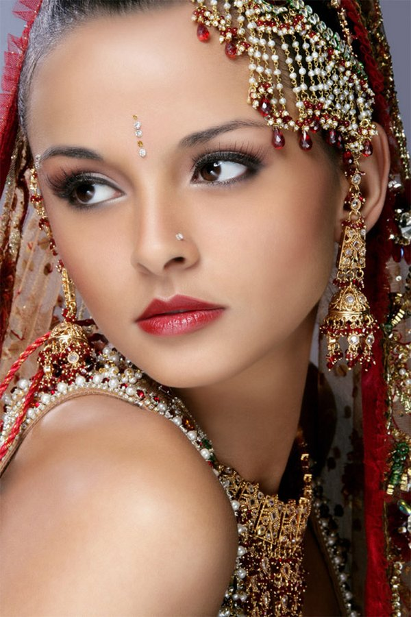 indian brides 13 Lovely & Gorgeous Beauty Of Indian Brides