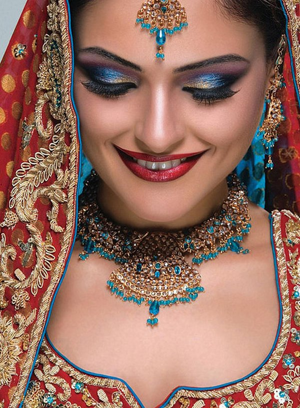 indian brides 15 Lovely & Gorgeous Beauty Of Indian Brides