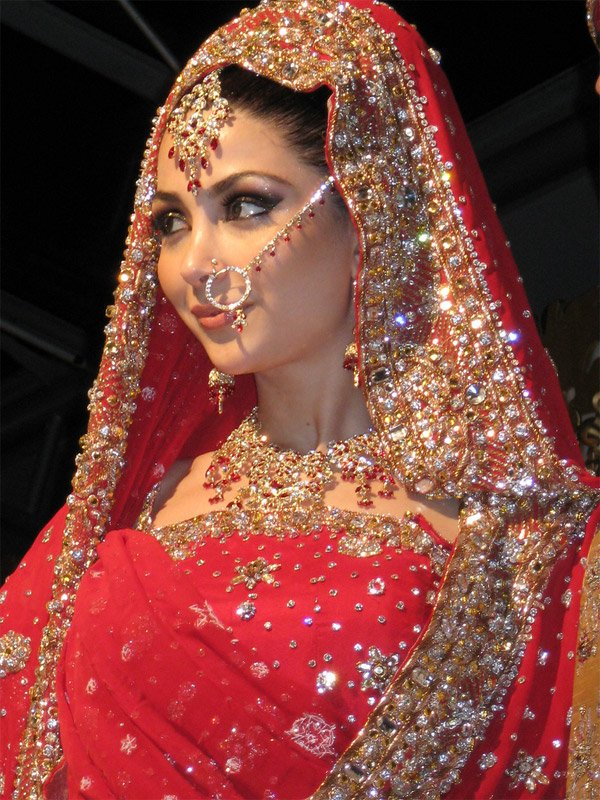 indian brides 18 Lovely & Gorgeous Beauty Of Indian Brides
