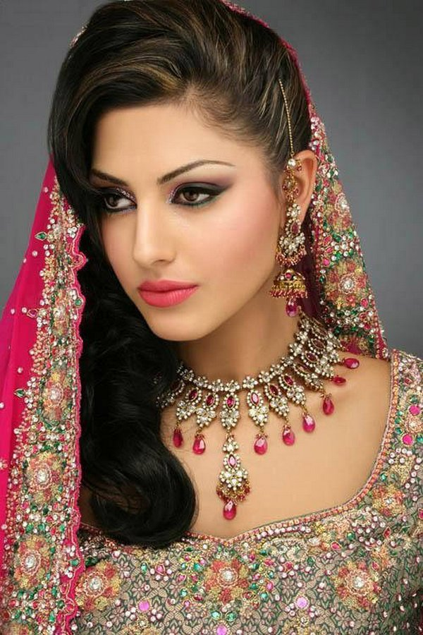 indian brides 20 Lovely & Gorgeous Beauty Of Indian Brides