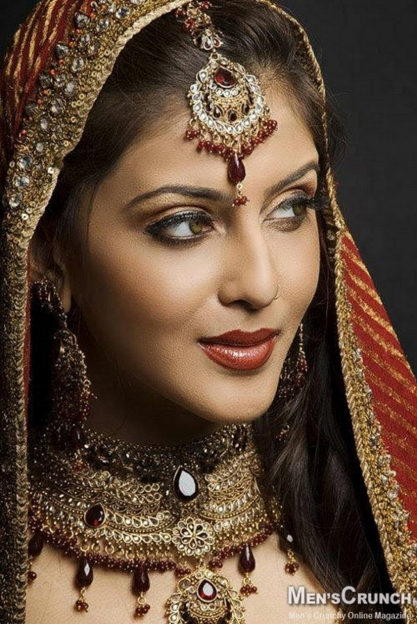 indian brides 22 Lovely & Gorgeous Beauty Of Indian Brides