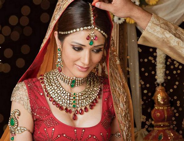indian brides 23 Lovely & Gorgeous Beauty Of Indian Brides