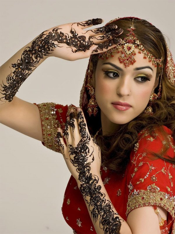 indian brides 24 Lovely & Gorgeous Beauty Of Indian Brides