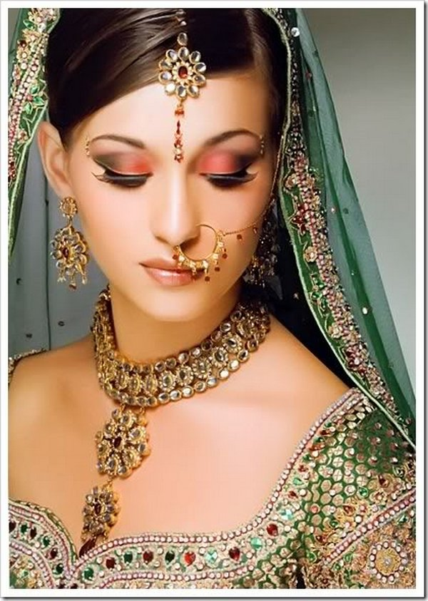 indian brides 25 Lovely & Gorgeous Beauty Of Indian Brides