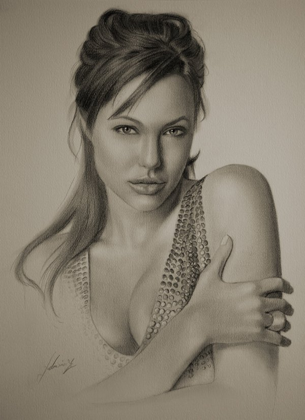 celebrities drawn in pencil 01 So Real Paintings... Are You Sure That Is Drawn In Pencil?