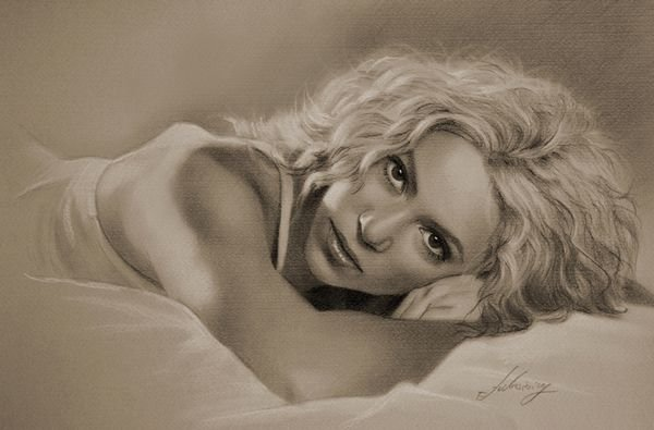 celebrities drawn in pencil 04 So Real Paintings... Are You Sure That Is Drawn In Pencil?
