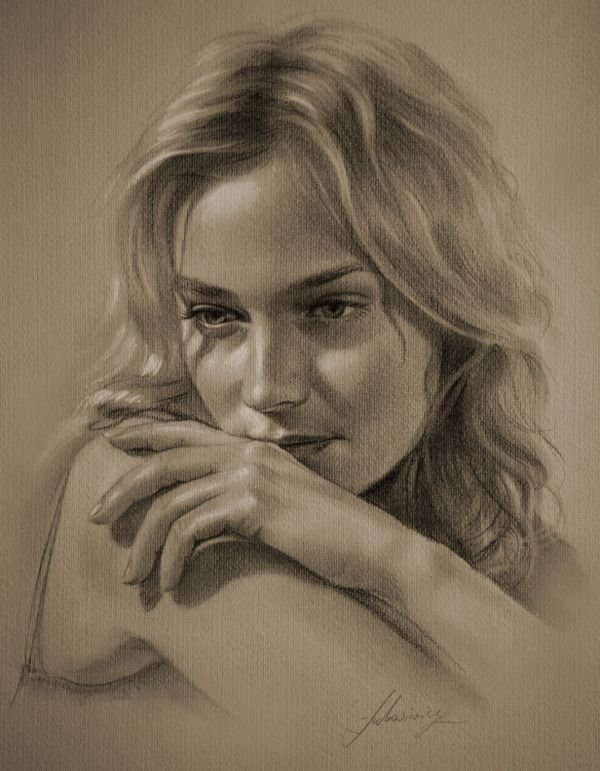 celebrities drawn in pencil 07 So Real Paintings... Are You Sure That Is Drawn In Pencil?