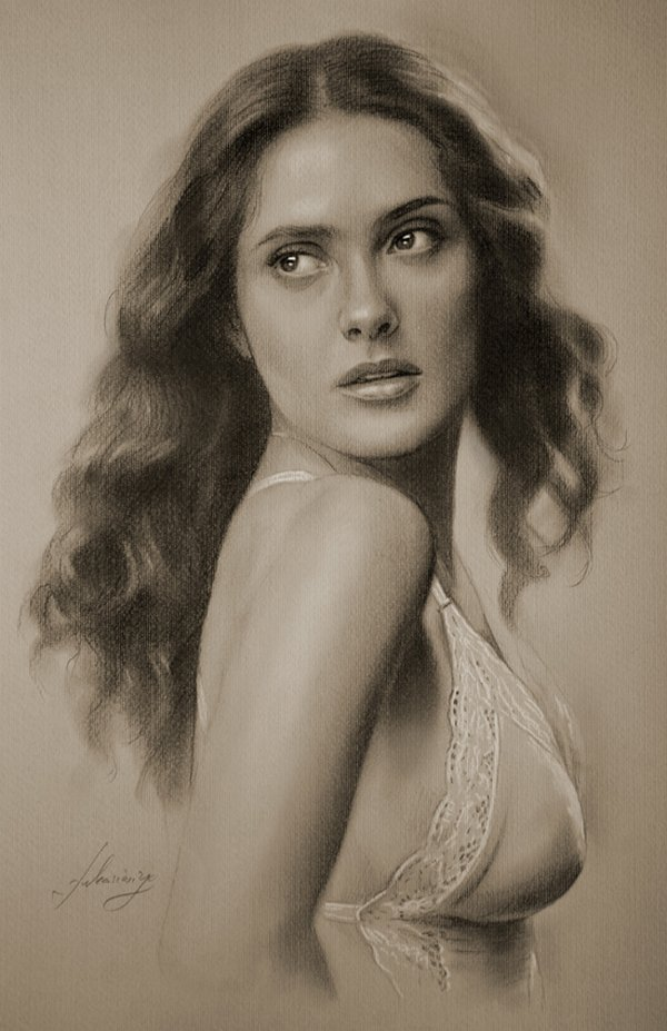 celebrities drawn in pencil 09 So Real Paintings... Are You Sure That Is Drawn In Pencil?