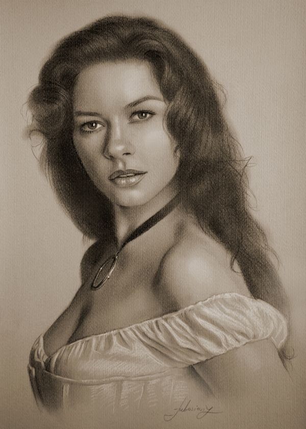 celebrities drawn in pencil 11 So Real Paintings... Are You Sure That Is Drawn In Pencil?