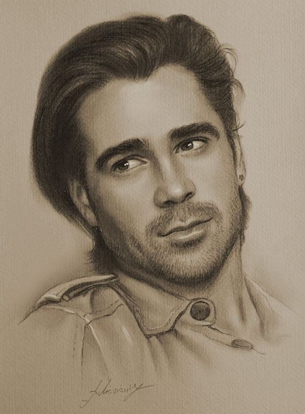 celebrities drawn in pencil 14 So Real Paintings... Are You Sure That Is Drawn In Pencil?