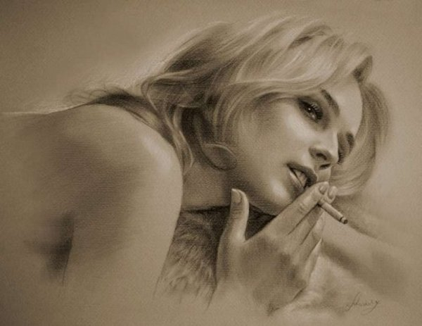 celebrities drawn in pencil 15 So Real Paintings... Are You Sure That Is Drawn In Pencil?
