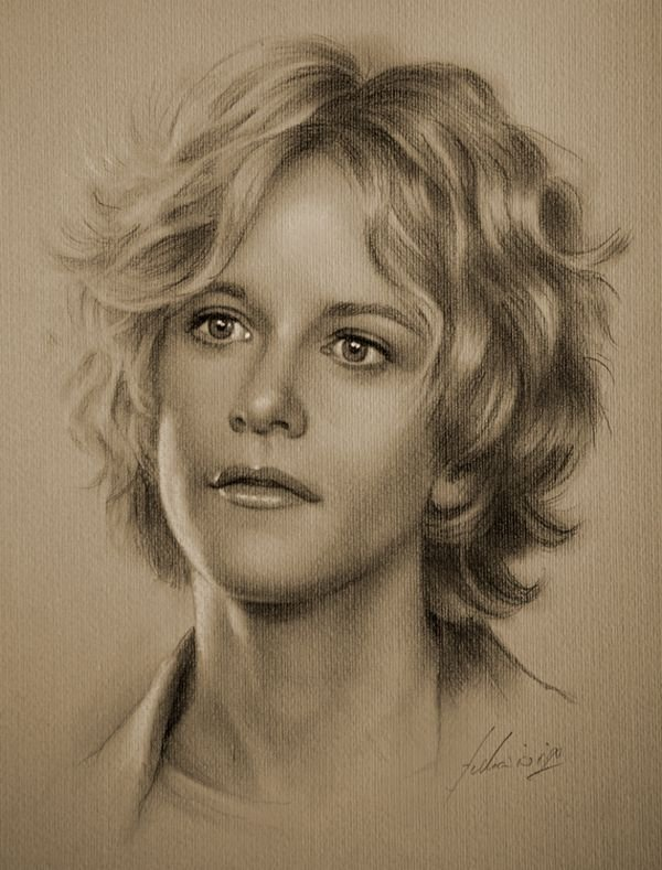 celebrities drawn in pencil 18 So Real Paintings... Are You Sure That Is Drawn In Pencil?