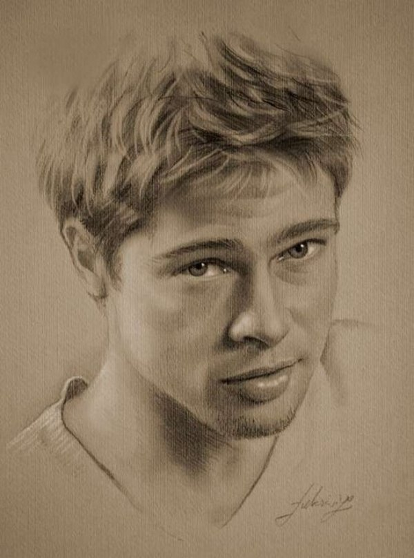 celebrities drawn in pencil 21 So Real Paintings... Are You Sure That Is Drawn In Pencil?