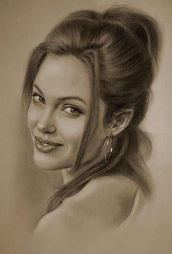 celebrities drawn in pencil 24 So Real Paintings... Are You Sure That Is Drawn In Pencil?